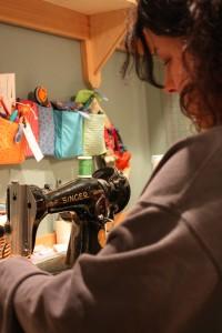 The Bridesmaid Stitching