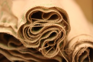 Muslin Napkins Rolled