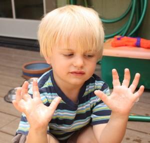 Vaseline Hands