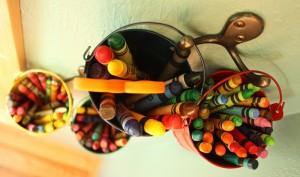 Crayons Hanging