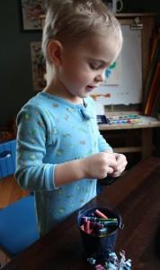 Gus Peeling Crayons