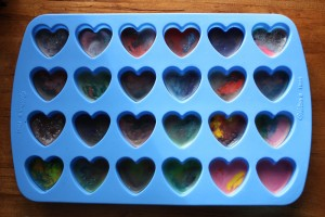 Cooled Love Crayons