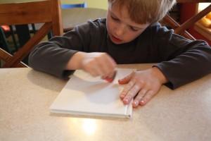 Testing Heart Crayons