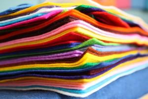 Wool Felt Pile